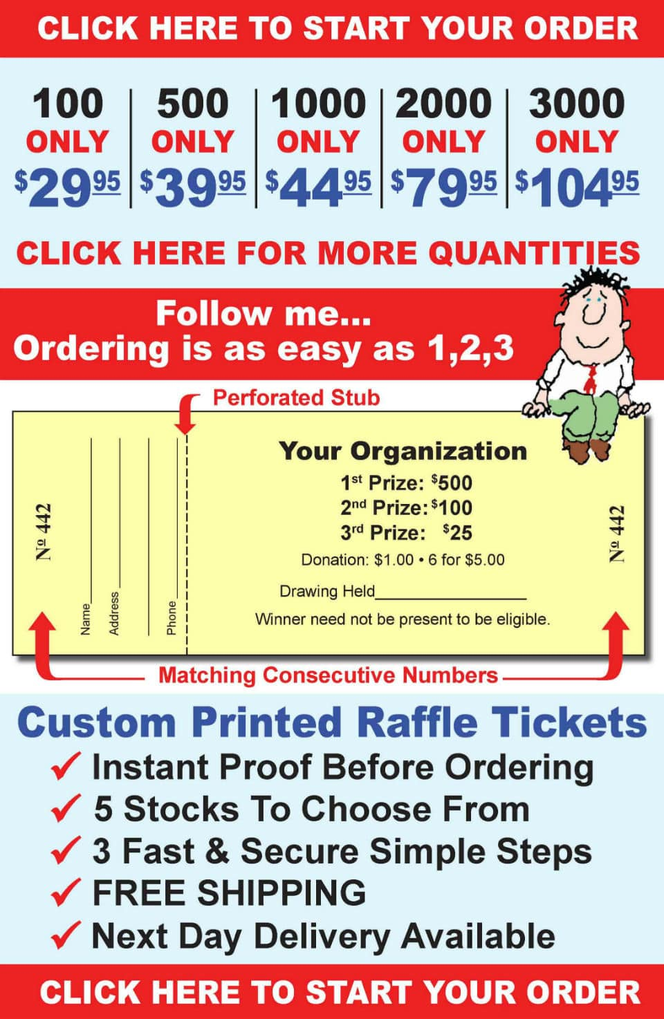 custom raffle tickets are our specialty com no audio mode audio is disabled and user data will not be recorded enable audio